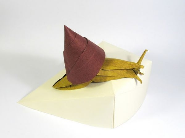 origami caracol