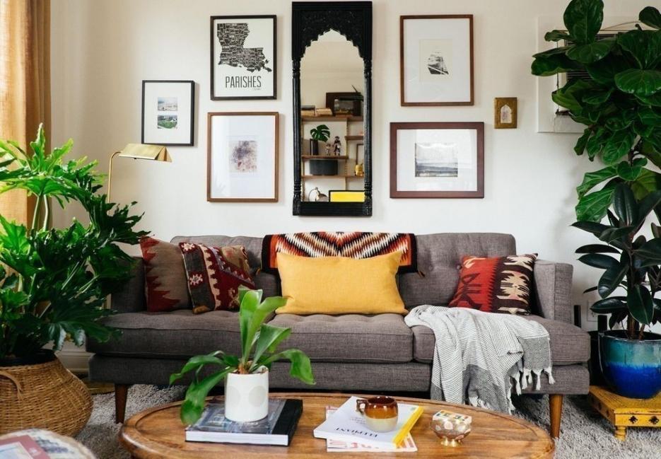 Cómo decorar con estilo tropical- plantas