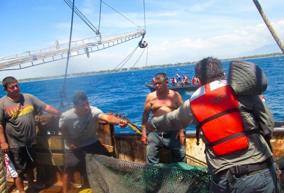 Pescadores de camarones