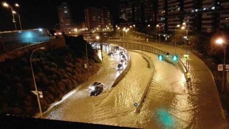Inundaciones en Alicante marzo 2017