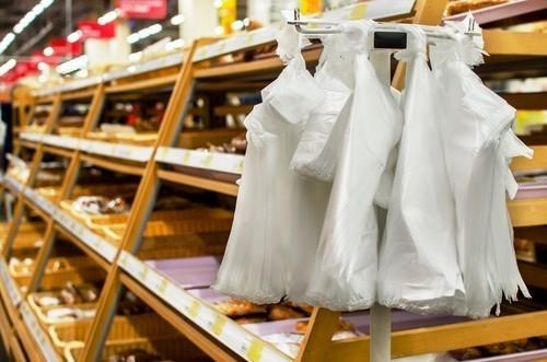 Según la ley, las bolsas plásticas deben ser eliminadas progresivamente durante 2 años