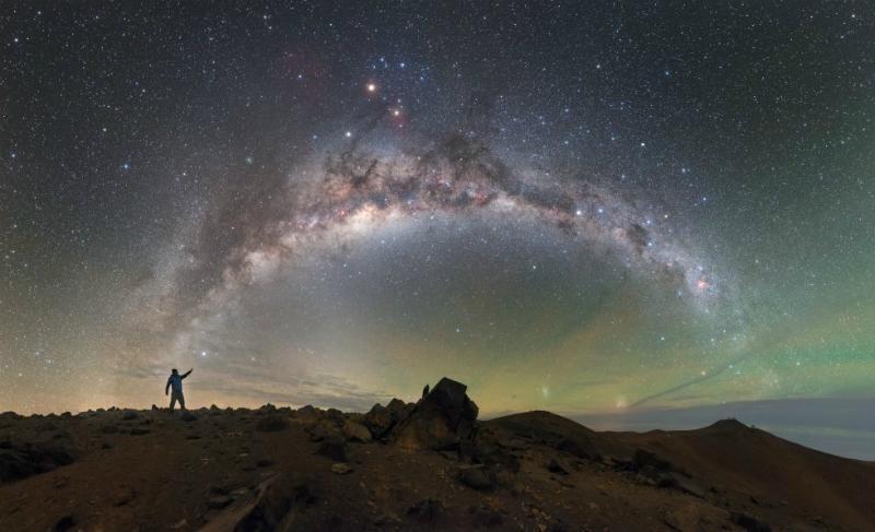 Mención honorífica en la categoría Astronomía