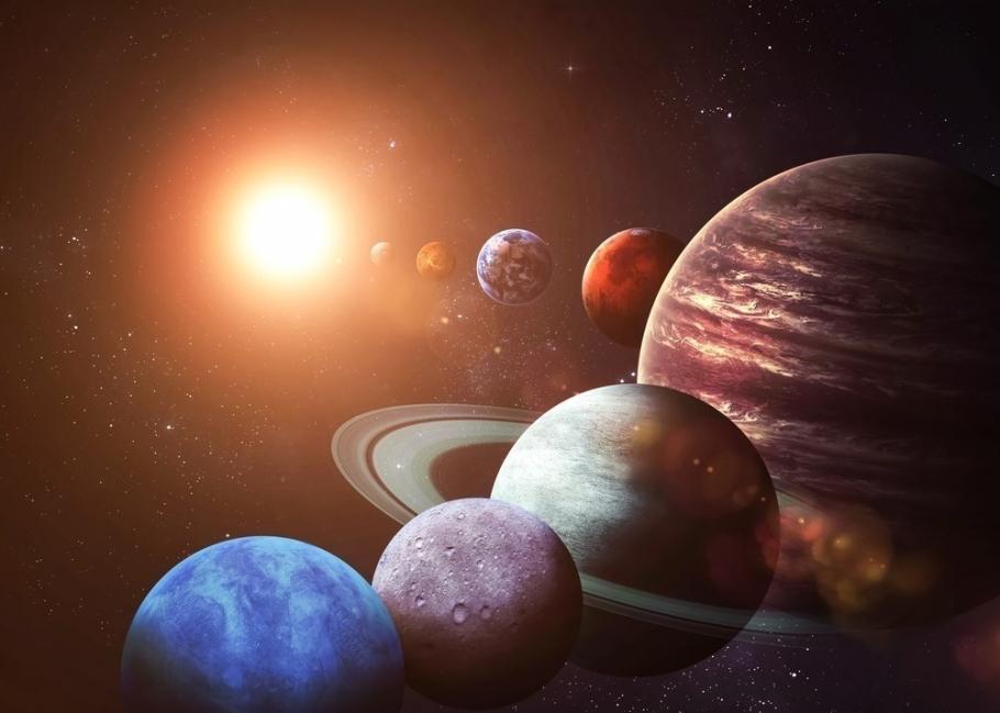 planetas alineados fenómeno