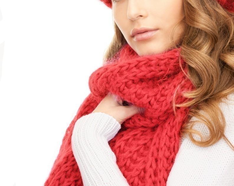cómo hacer una bufanda sin tejer