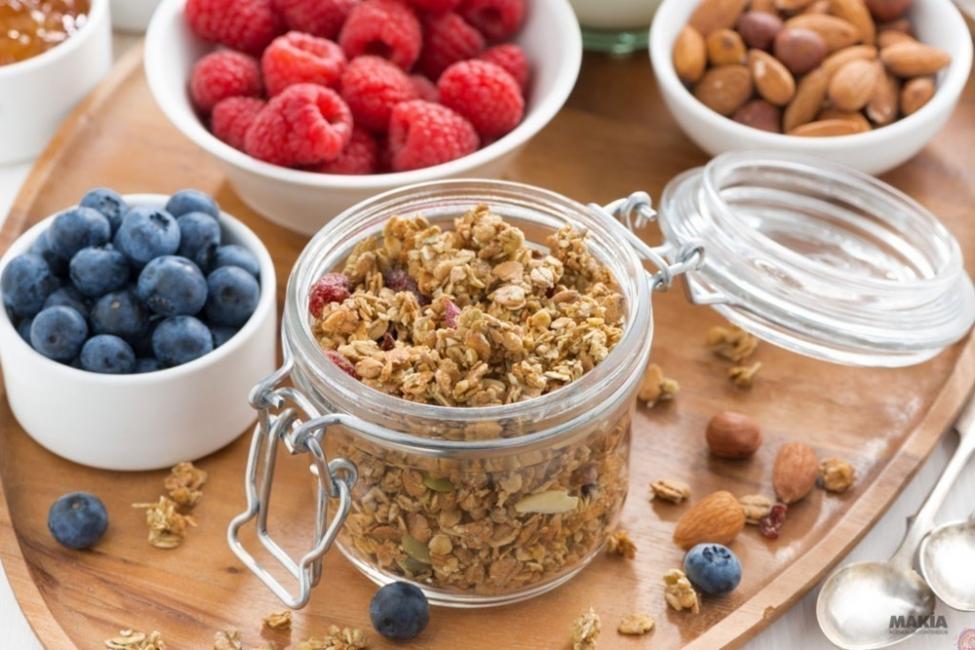 dejar las harinas - snaks de fruta