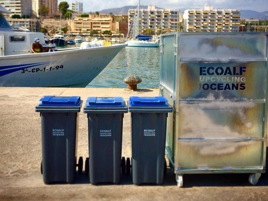 Ropa hecha de residuos de océanos