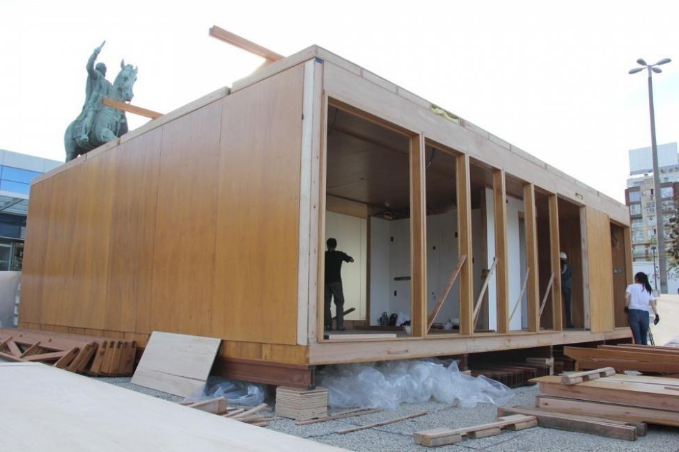 La mejor vivienda sostenible  - Solar Decathlon- construcción