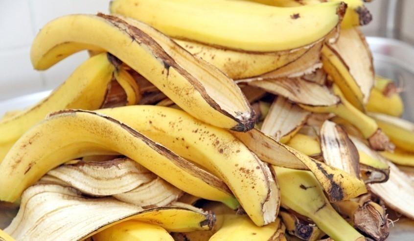 bioplástico con cáscaras de plátano