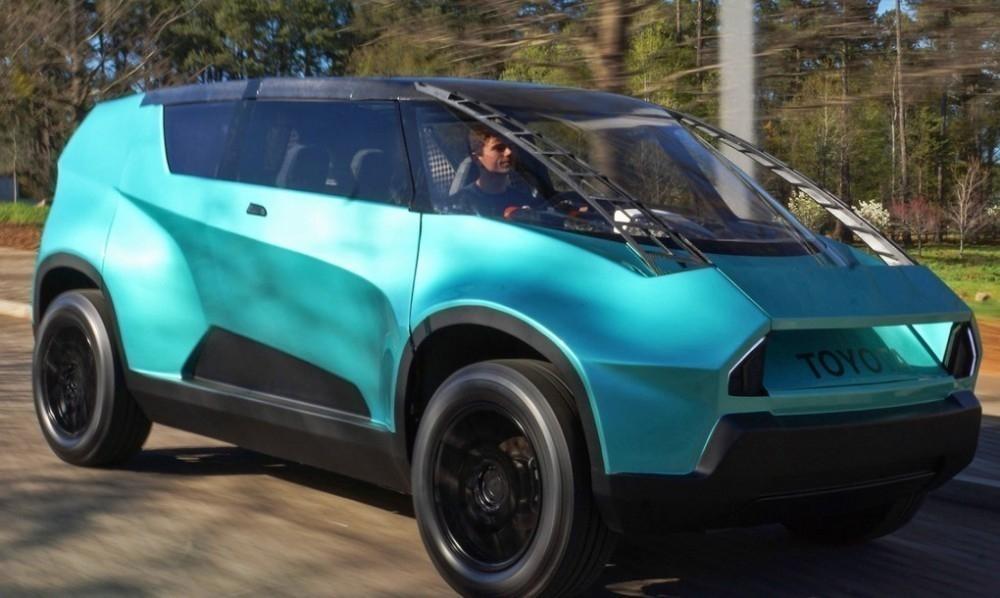 Un auto eléctrico, ¡con interior flexible! - Toyota