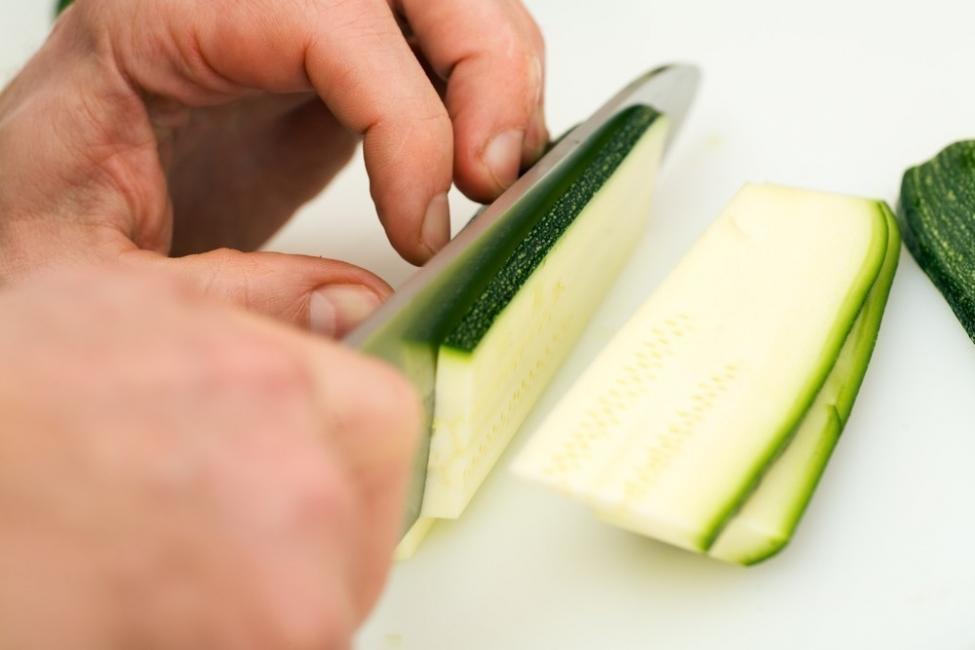 tarta de calabacín - preparación