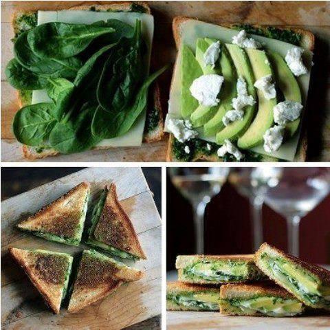 sandwich verde