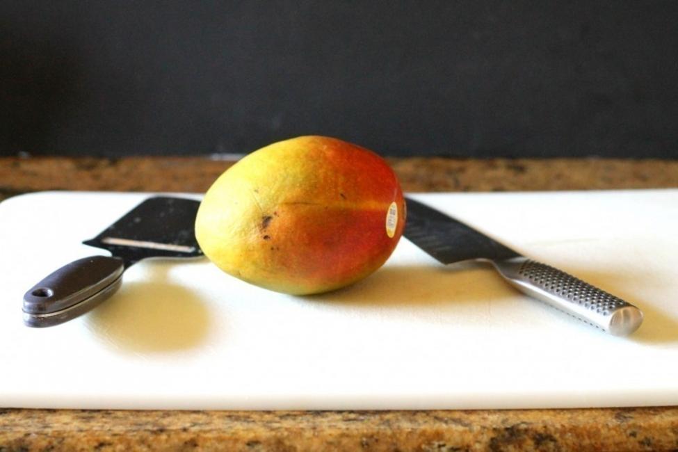 tarta flor de mango y leche de coco- ingredientes