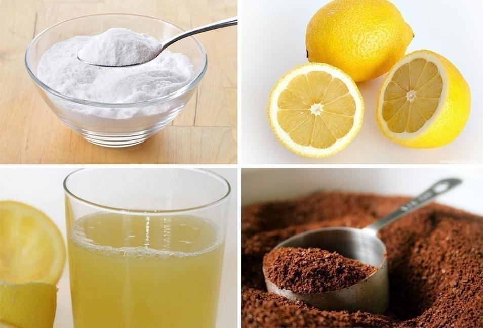 cómo eliminar olores del refrigerador bicarbonato - limón - café- zumo