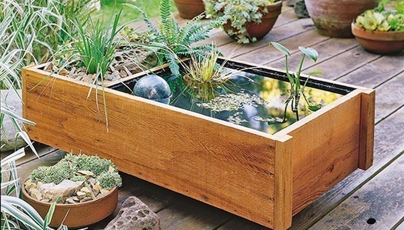 fuente para patios, balcones o terrazas - terminado