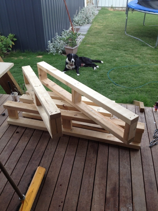 Cómo hacer una cama para tu jardín  - construir los módulos