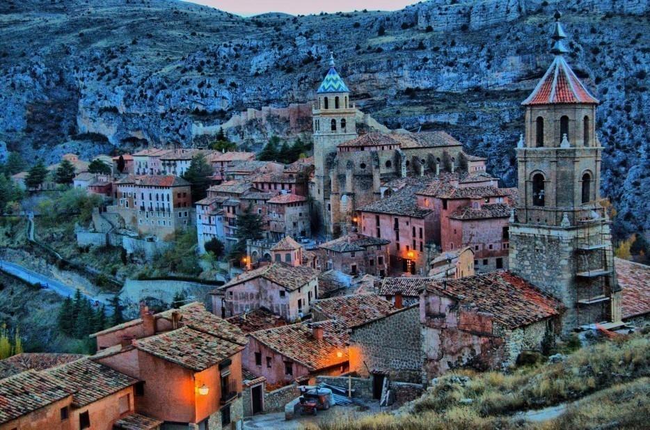 Pueblos secretos. Albarracín, España