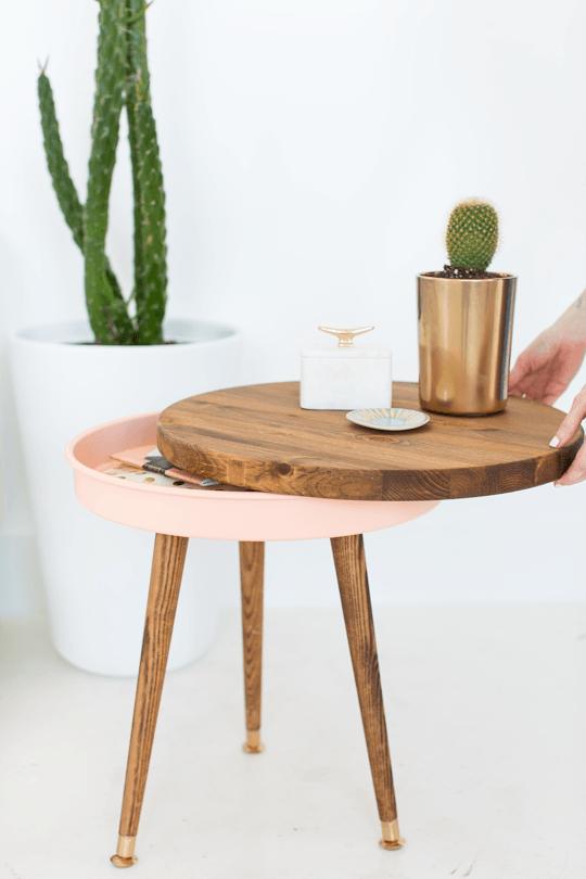 mesa vintage - terminada