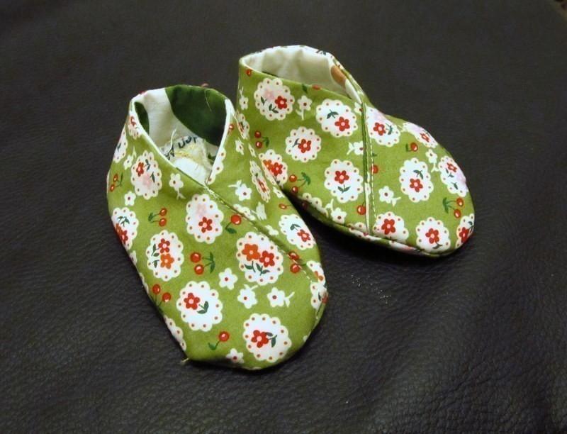Pantuflas - diy verdes