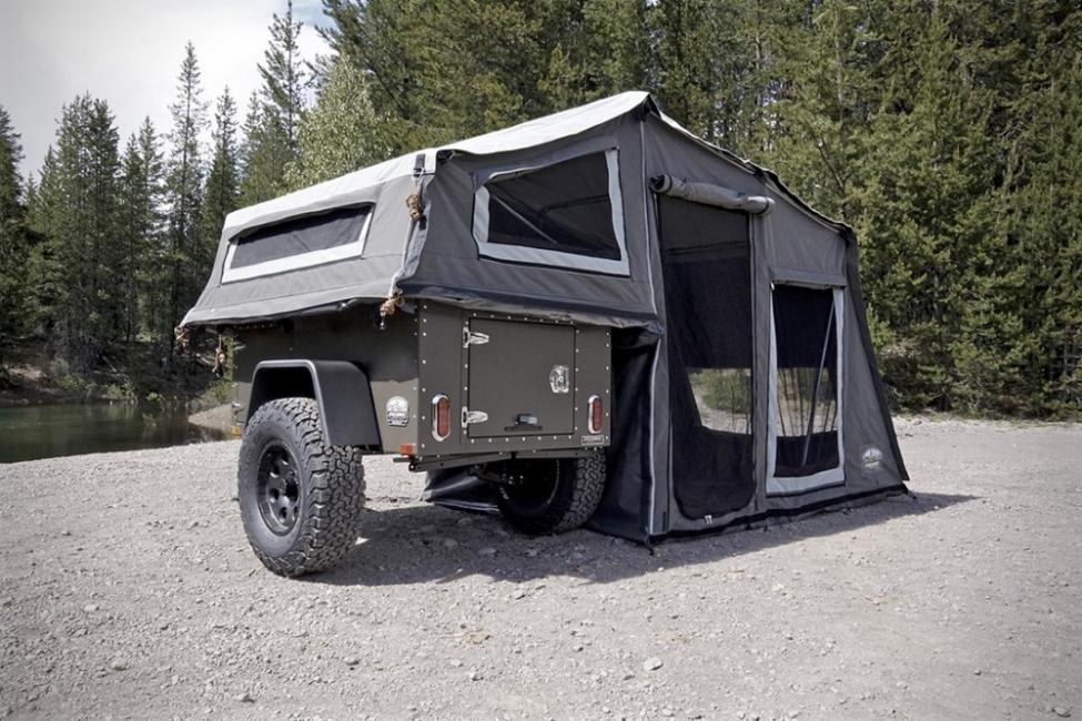 Un trailer que se convierte en una tienda de campaña - 3