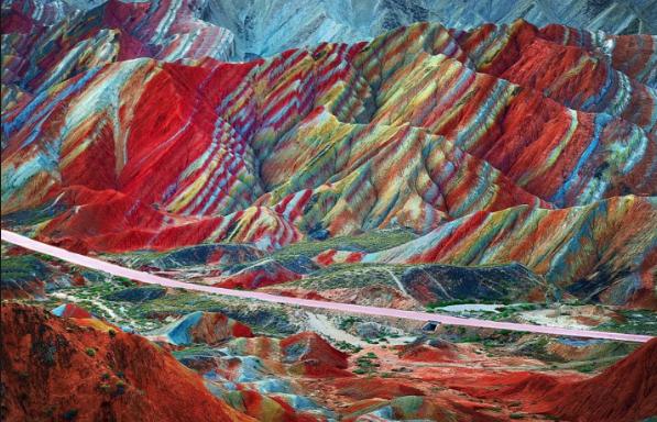 lugares de otro mundo montañas únicas