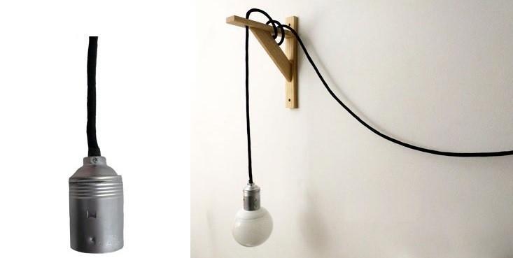 lámpara de cable paso 3