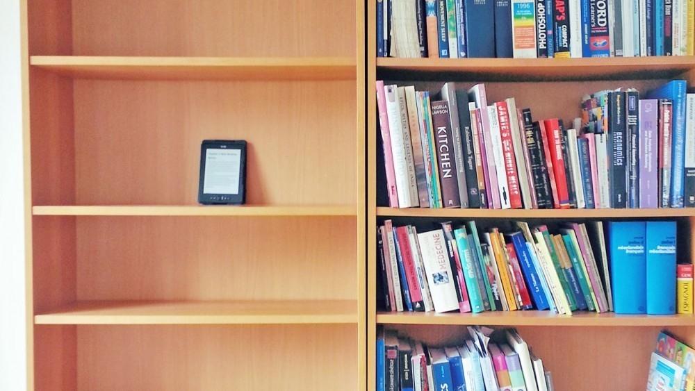 libros contra libros electrónicos