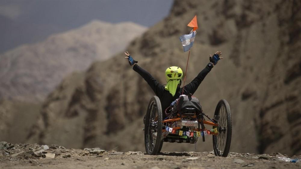 Himalaya en silla de ruedas