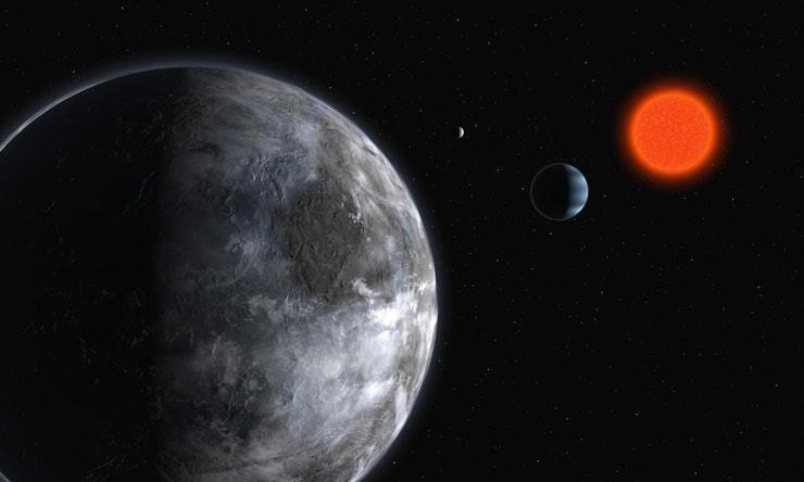 Anteriormente, los planetas solo se habían detectado en la galaxia de la Vía Láctea