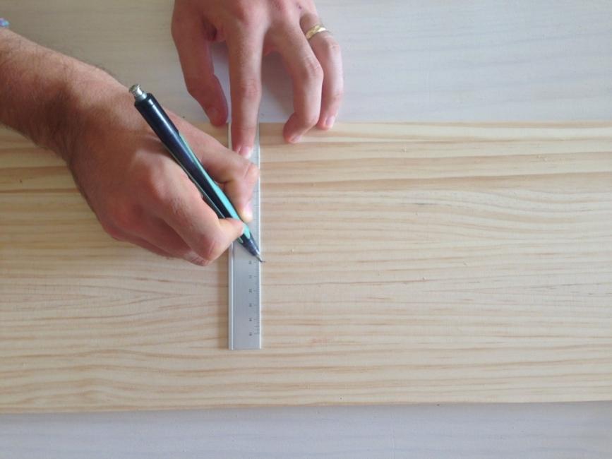 Medir madera
