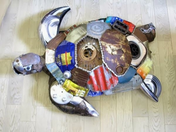Natsumi Tomita Esculturas Recicladas 12