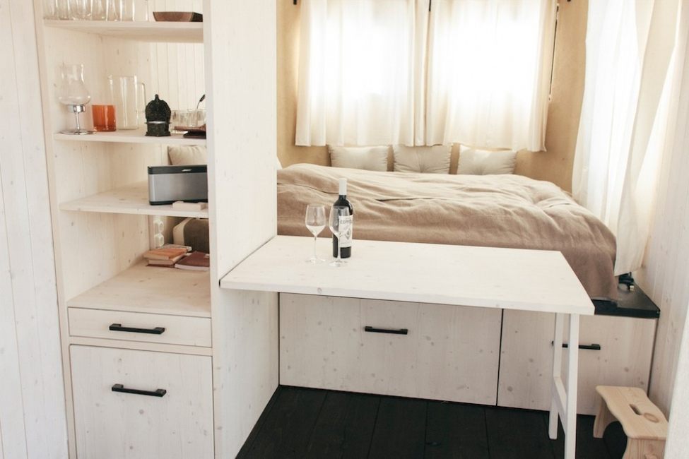 Una encantadora casita en muy pocos metros cuadrados -  interior