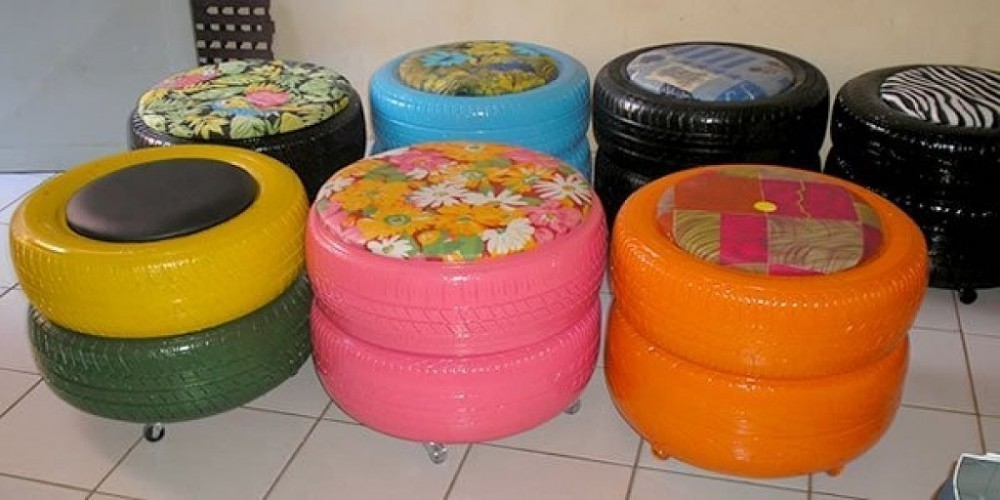 taburetes tapizados