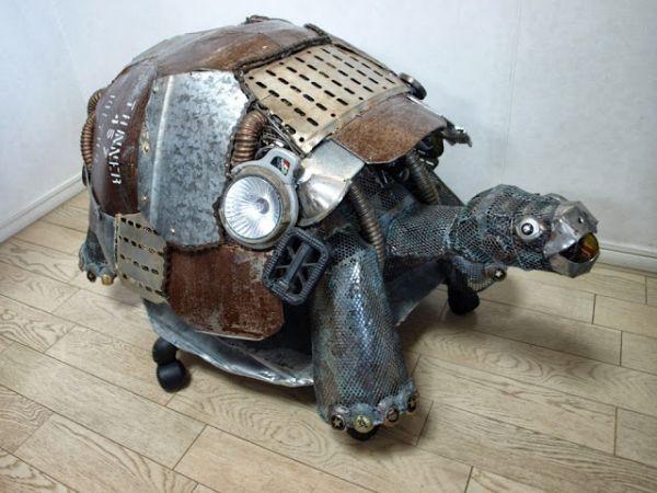 Natsumi Tomita Esculturas Recicladas 16