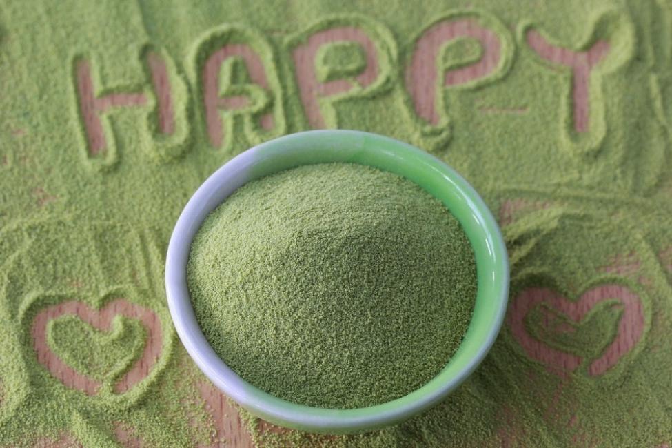 Tratar la depresión con chlorella - felicidad
