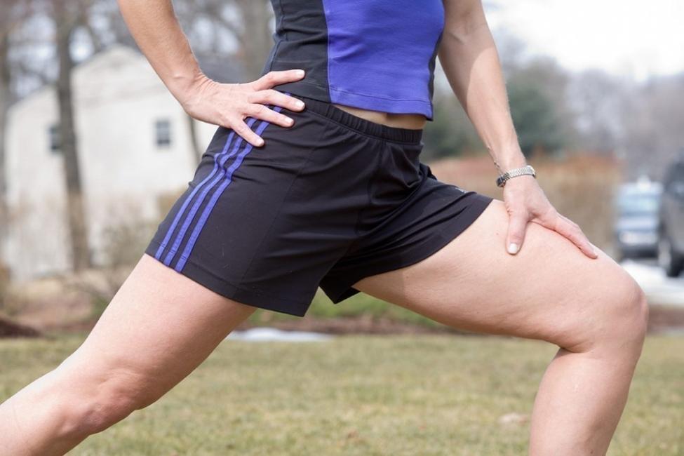 ejercicios para estirar el psoas- estocada