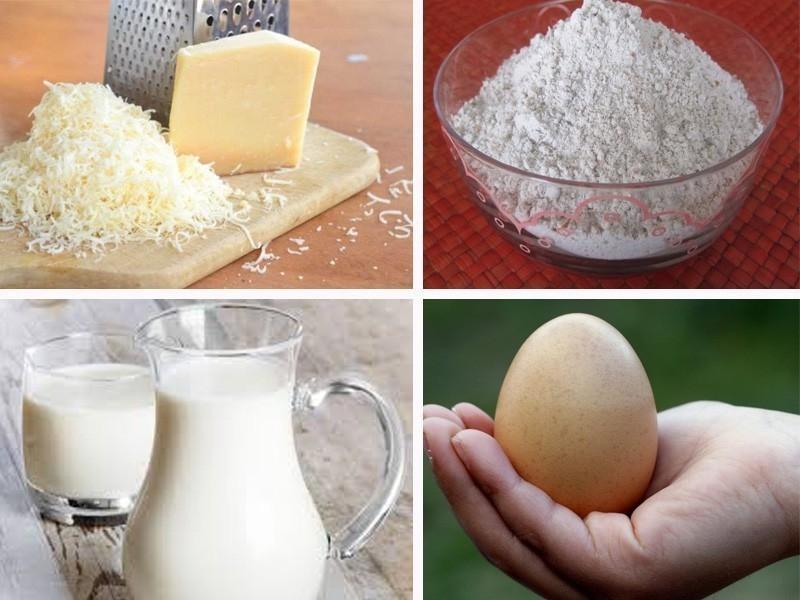 pan de queso colombiano- ingredientes