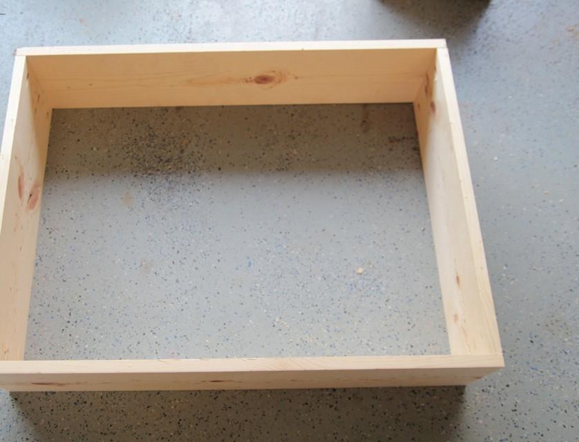 Cómo hacer una mesa para espacios reducidos- armar caja