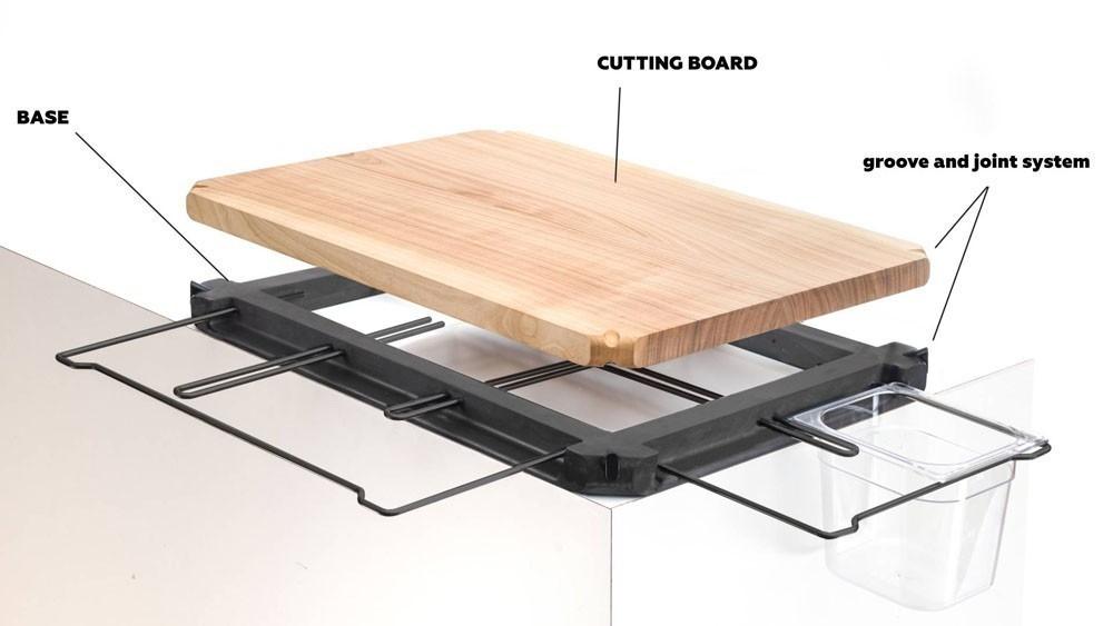 accesorio para cocinas pequeñas- diseño