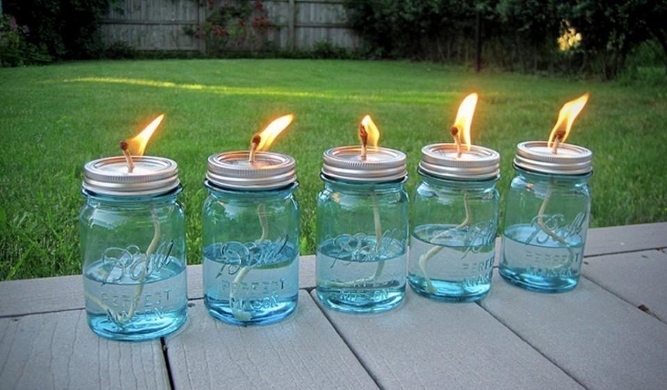 velas repelentes de citronela