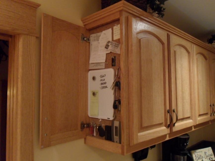 Muebles para cocinas pequeñas- orden