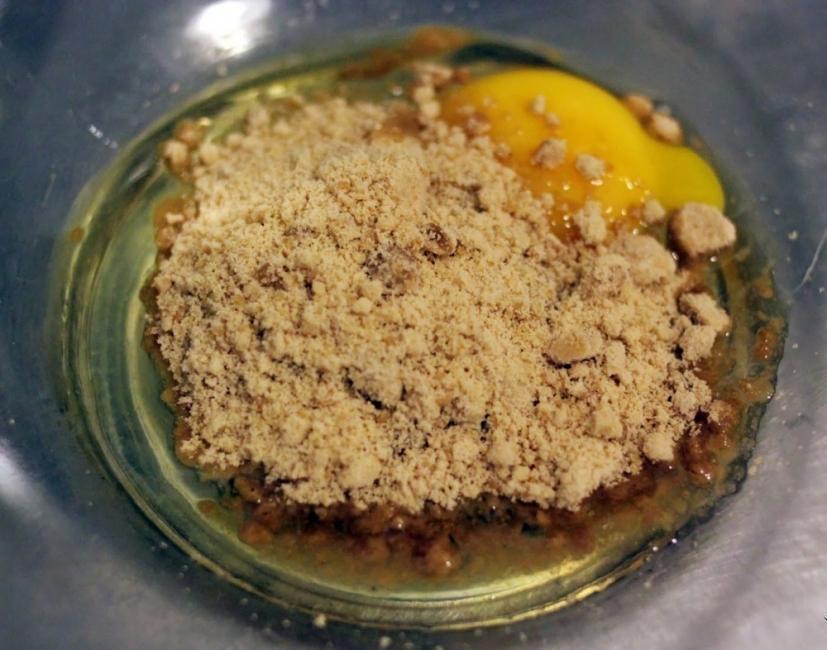 Postre saludable de yogur griego con crema de naranja - paso 2