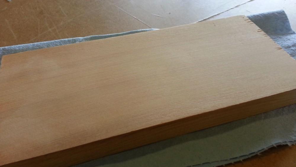 quitar abolladuras de la madera - terminado