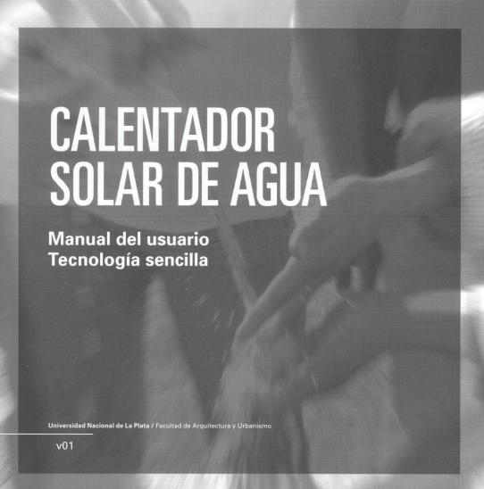 manual de calentador solar de agua