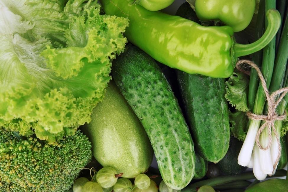Alimentos con calorías negativas - verdes
