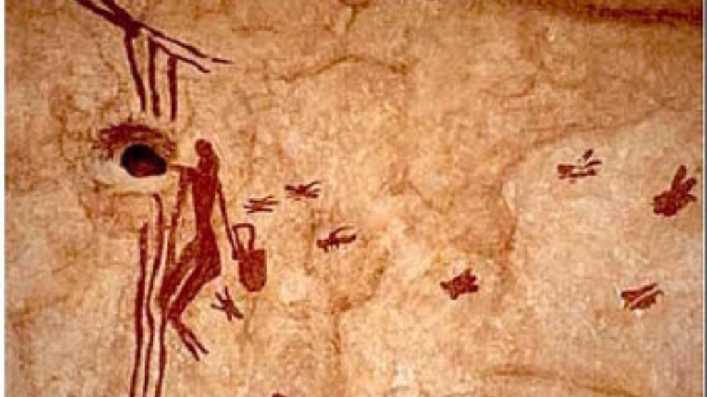 miel pintura rupestre España