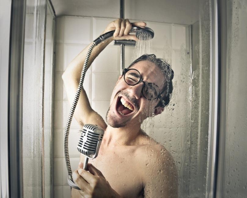 no ducharse diariamente