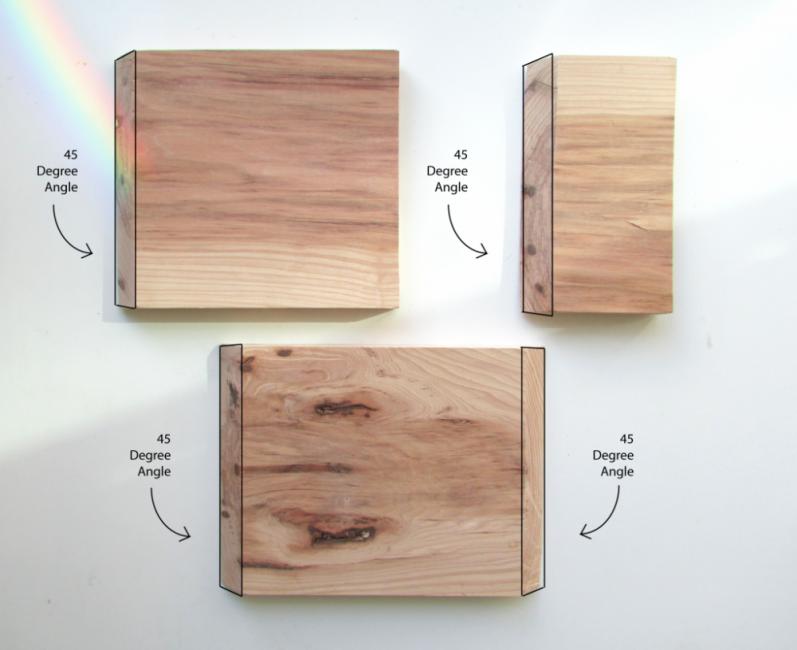 mesa auxiliar- maderas