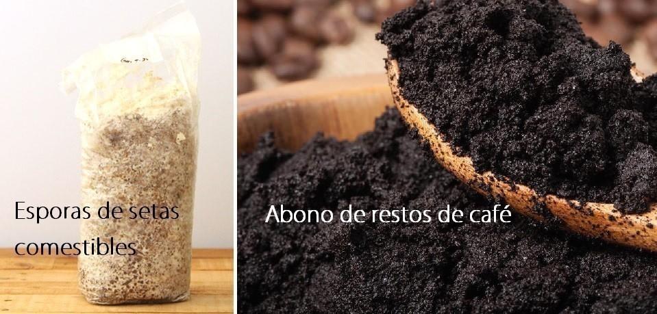 materiales para cultivar setas en tu casa