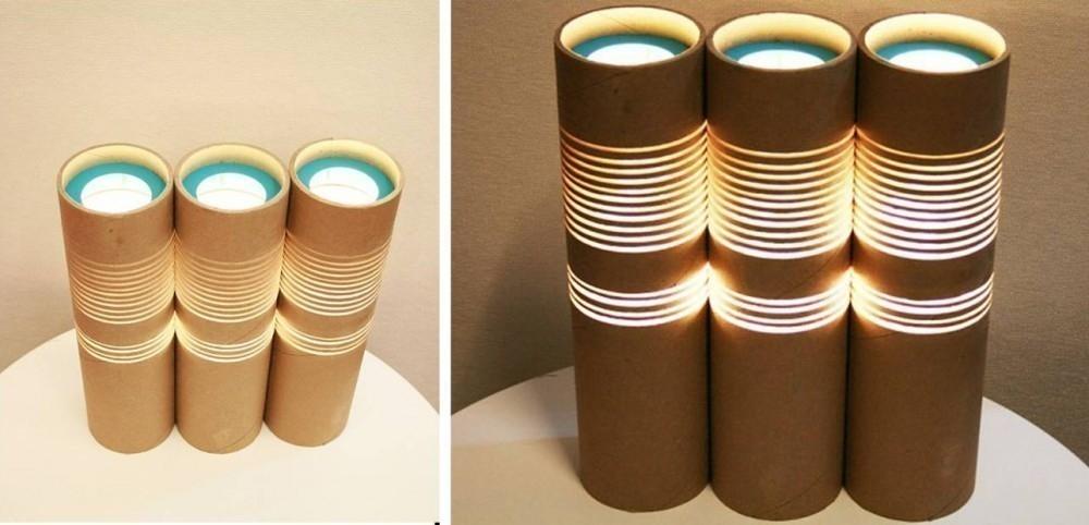 Tubos de cartón - lámparas