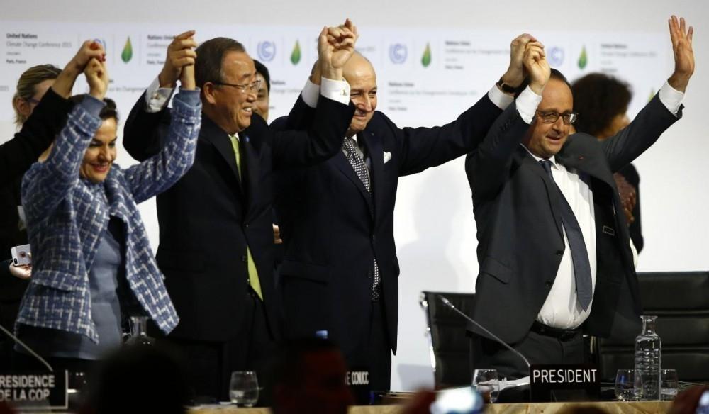 COP21 acuerdo - líderes